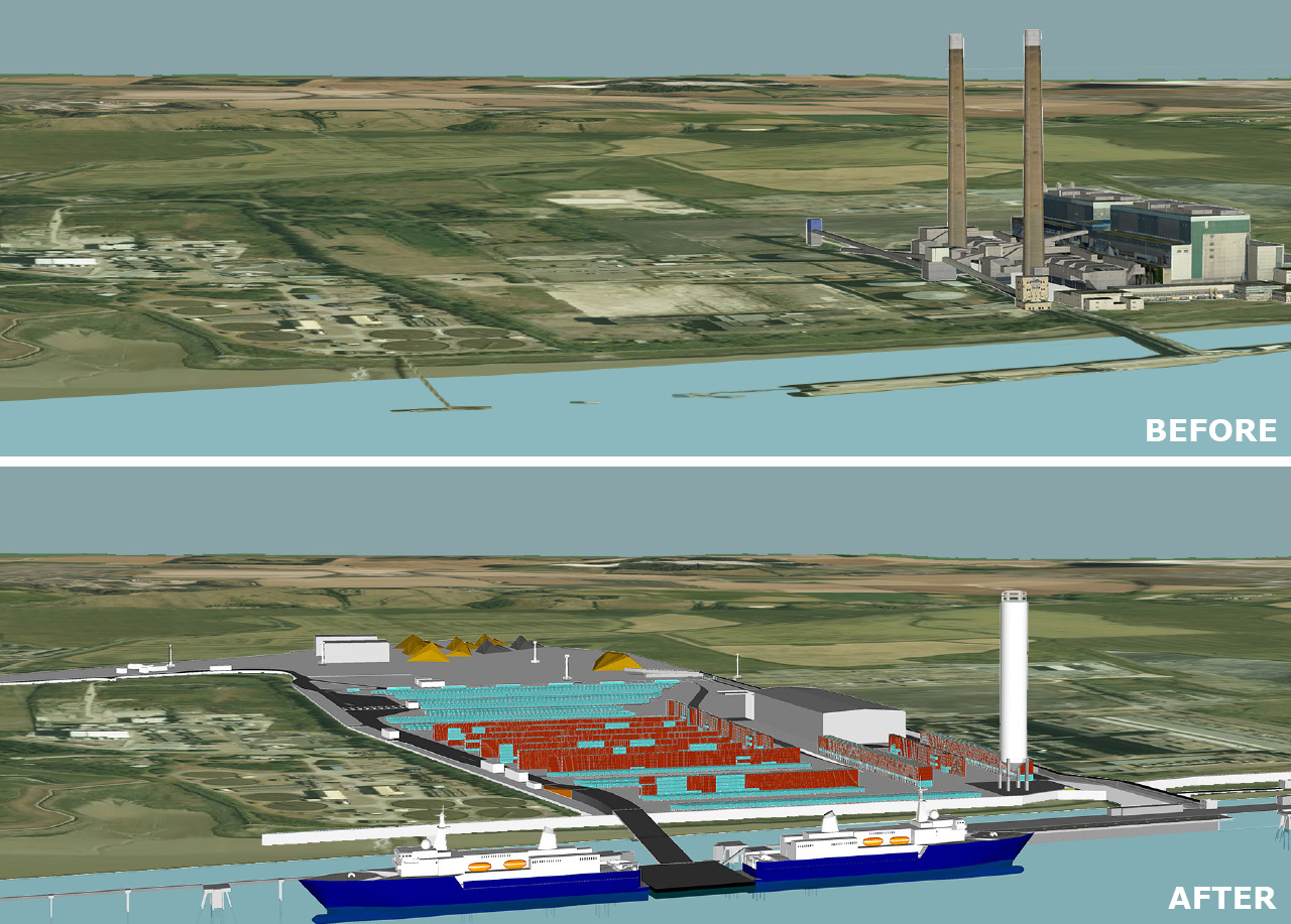 Planning secured for UK port